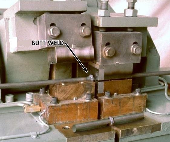 A1 195 rod butt welder