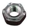 Six Projection Hex Nut